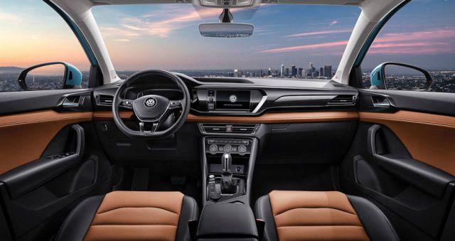 2021 Volkswagen Tarek interior