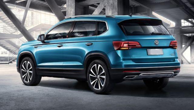 2021 Volkswagen Tarek rear