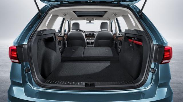 2021 Volkswagen Tarek trunk