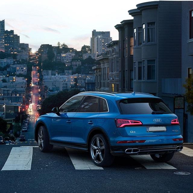 2021 Audi Q5 Sportback rear