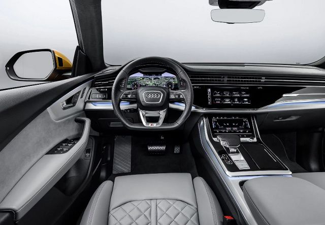 2021 Audi Q9 Cabin