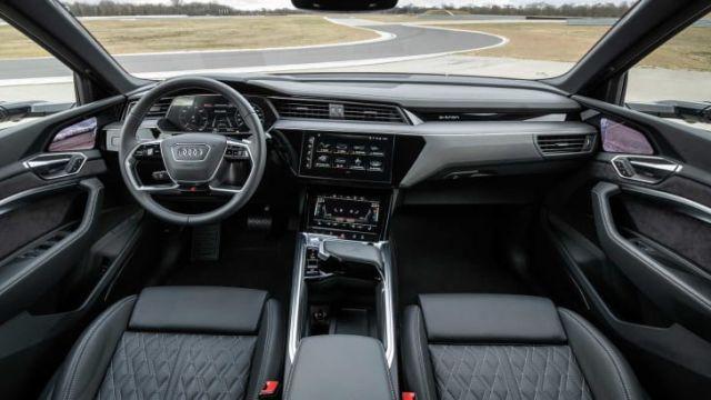 2021 Audi e-Tron S interior