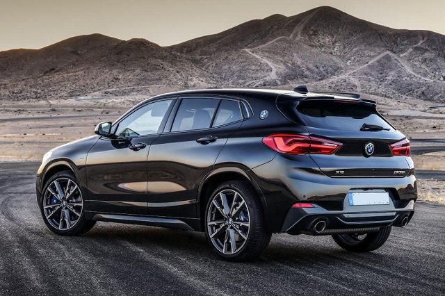 2021 BMW X2 rear