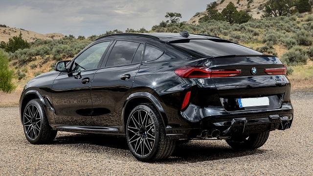 2021 BMW X6 rear
