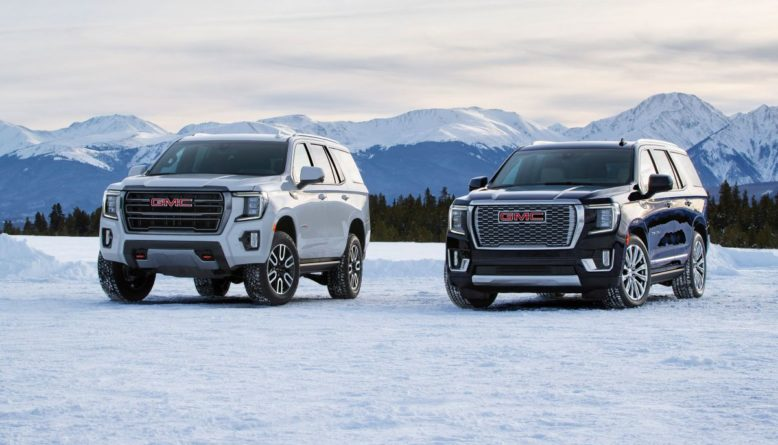 2021 GMC Yukon XL front