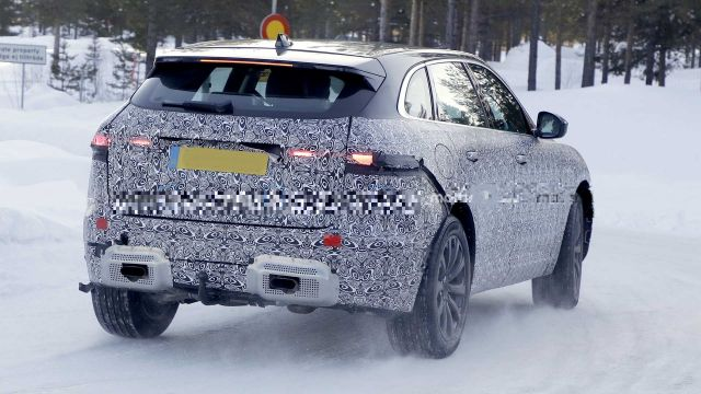 2021 Jaguar F-Pace rear