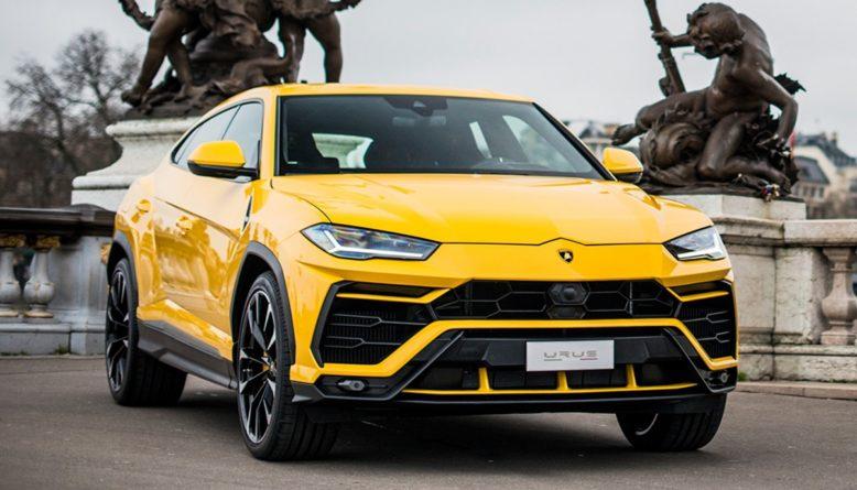 2021 Lamborghini Urus front