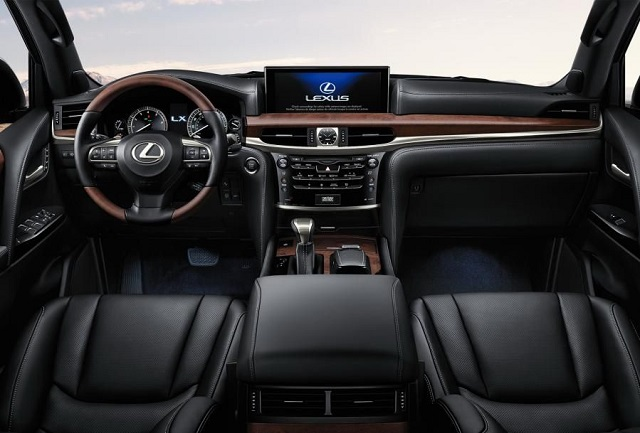 2021 Lexus LX 570 cabin
