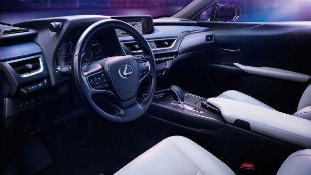 2021 Lexus UX 300e cabin