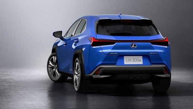 2021 Lexus UX 300e rear