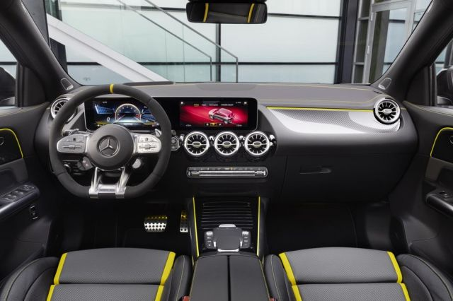 2021 Mercedes-AMG GLA 45 interior
