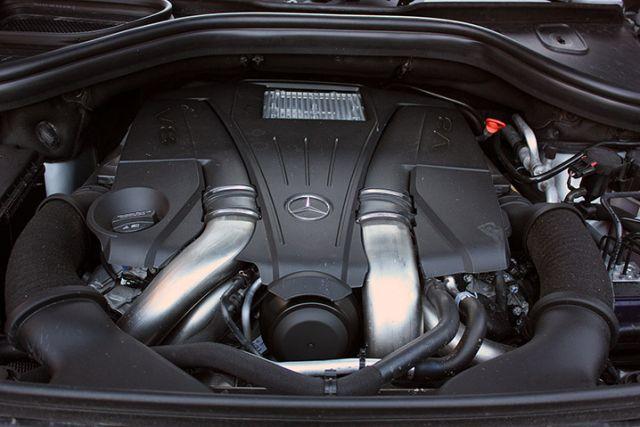 2021 Mercedes-Benz GLS engine