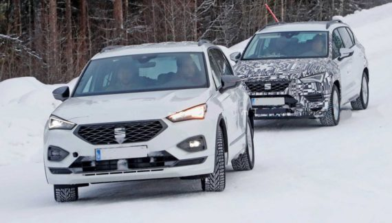 2021 Seat Ateca front