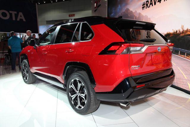 2021 Toyota RAV4 Prime rear