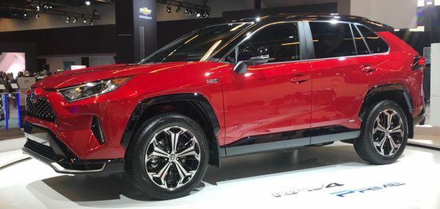 2021 Toyota RAV4 Prime side