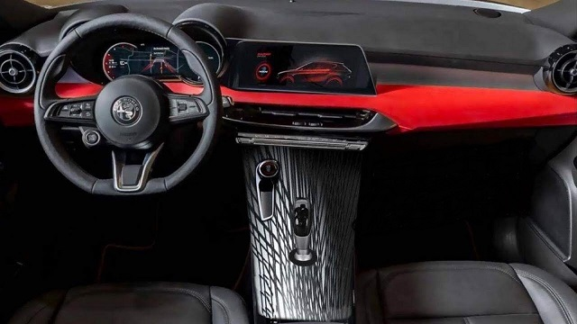 2021 Alfa Romeo Tonale cabin
