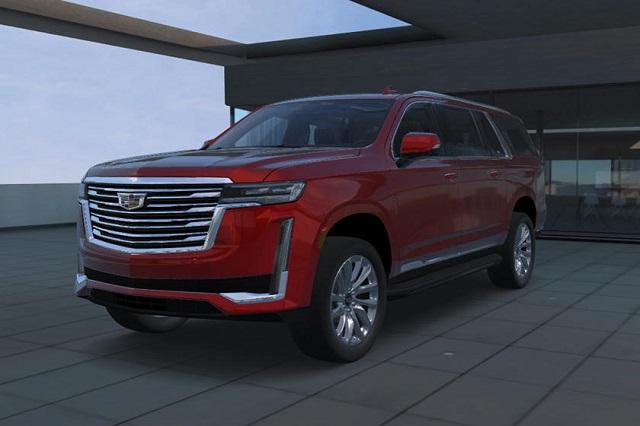 2021 Cadillac Escalade ESV front