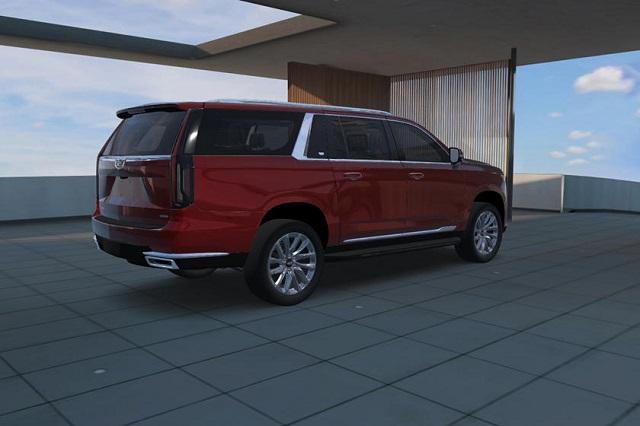 2021 Cadillac Escalade ESV rear
