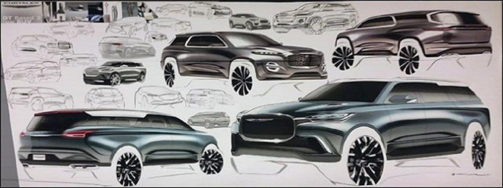 2021 Chrysler Aspen drawings