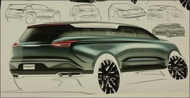 2021 Chrysler Aspen rear
