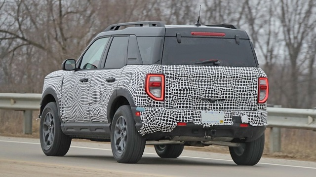 2021 Ford Bronco Sport rear