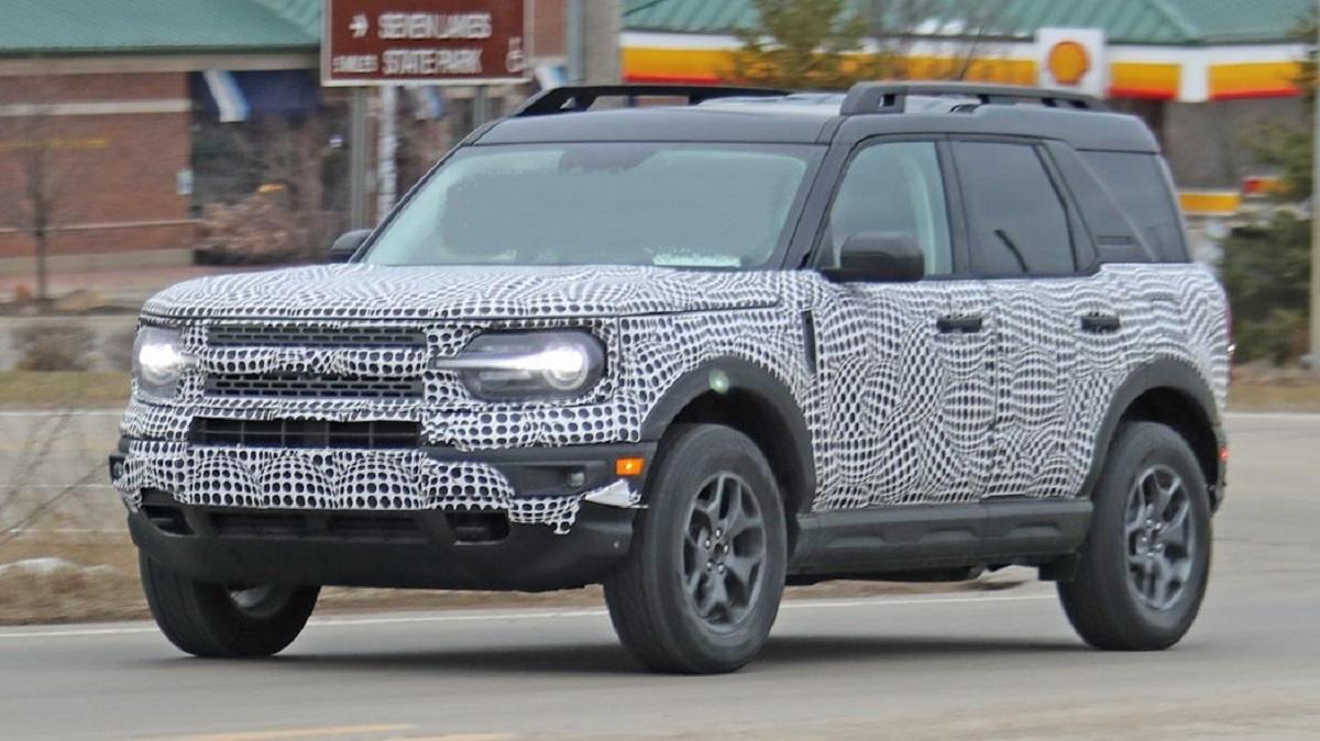 2021 Ford Bronco Sport First Spy Photos Emerge - 2020 ...