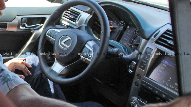 2021 Lexus GX cabin