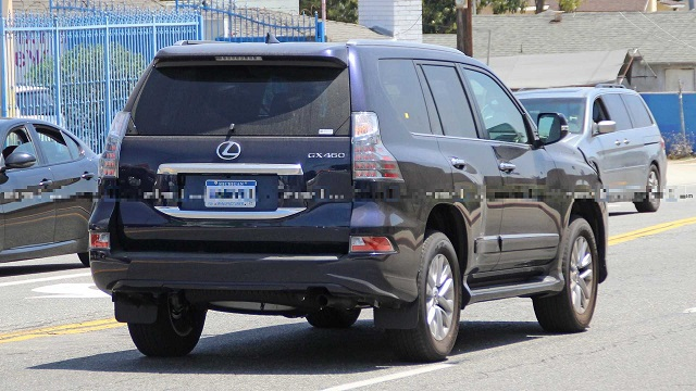 2021 Lexus GX rear