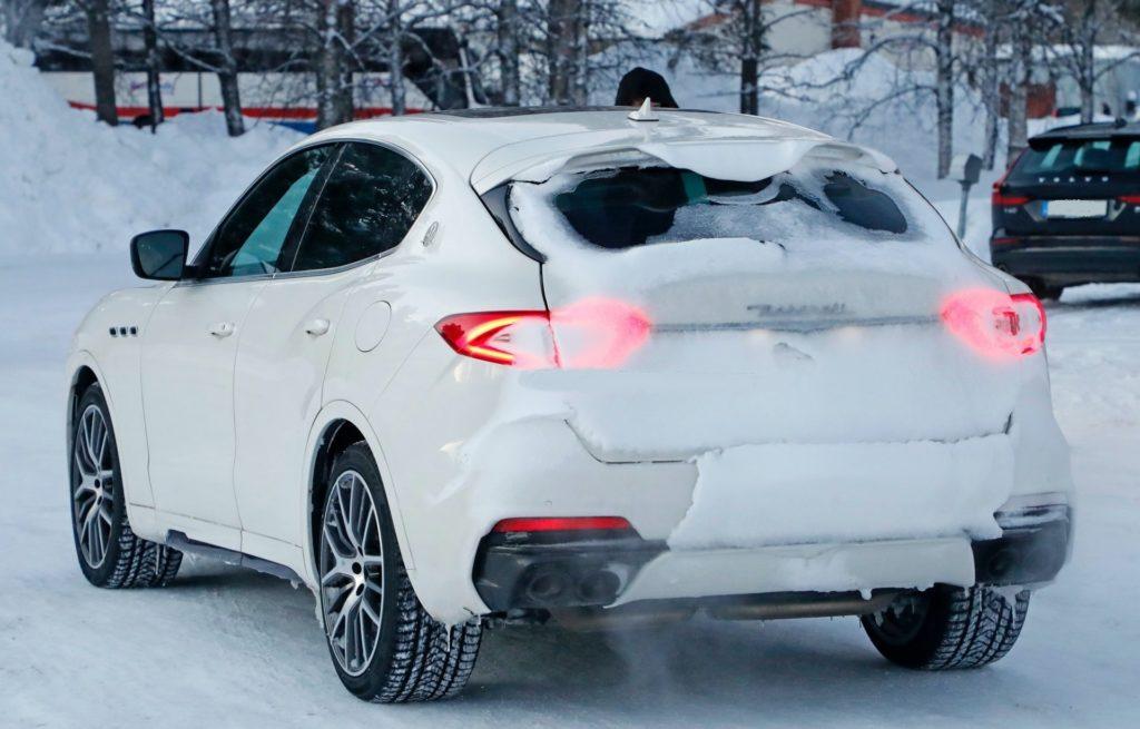 2021 Maserati Levante rear