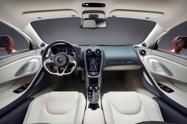 2021 McLaren GTX interior