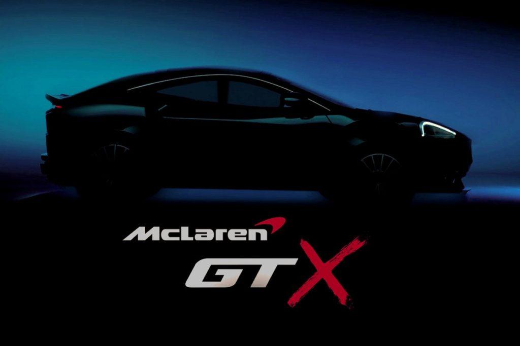 2021 McLaren GTX teases