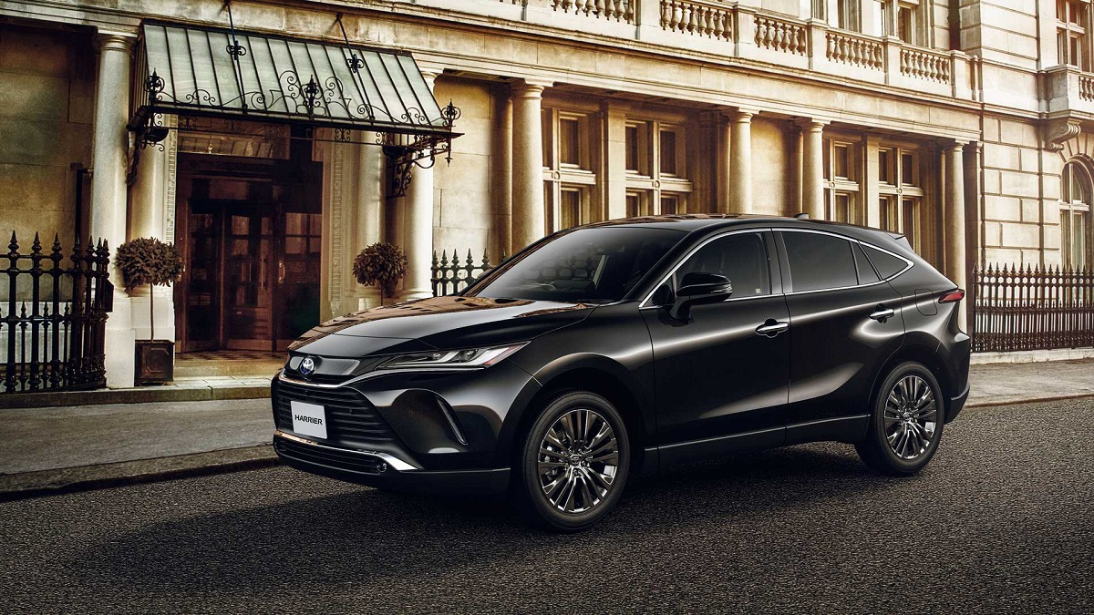 2021 Toyota Harrier First Look at the Foremost SUV in ...