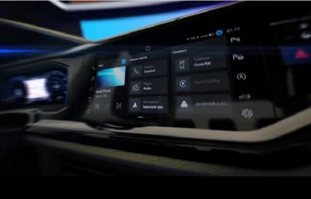 2021 VW Nivus cabin