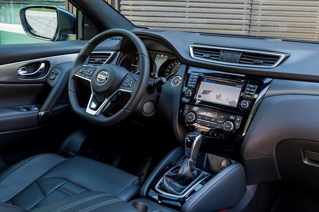2022 Nissan Qashqai cabin