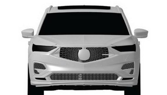 2021 Acura MDX Type S front
