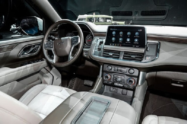 2021 Chevy Tahoe cabin