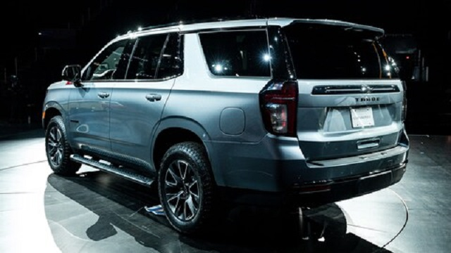2021 Chevy Tahoe rear