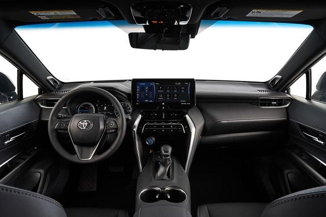 2021 Toyota Venza cabin