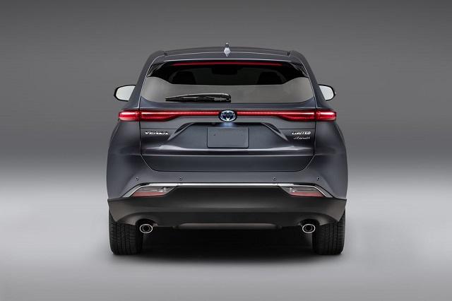 2021 Toyota Venza rear