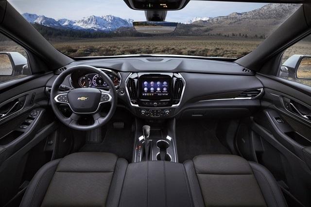 2022 Chevrolet Traverse cabin