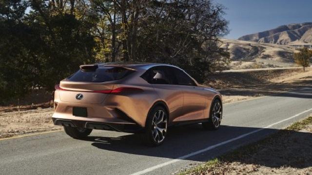2022 Lexus LQ rear