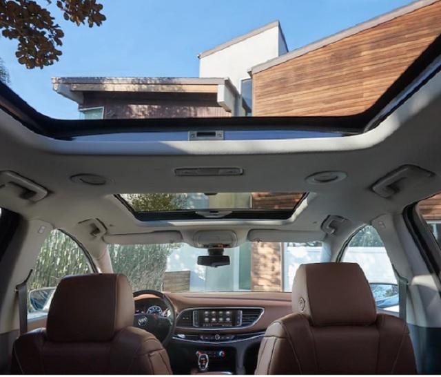 2021 Buick Envision Avenir cabin