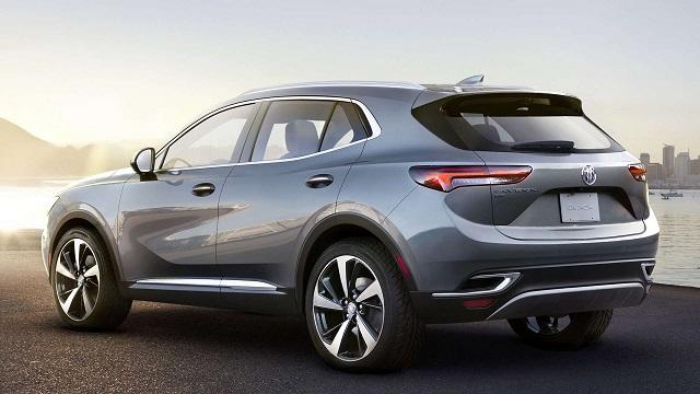 2021 Buick Envision Avenir rear