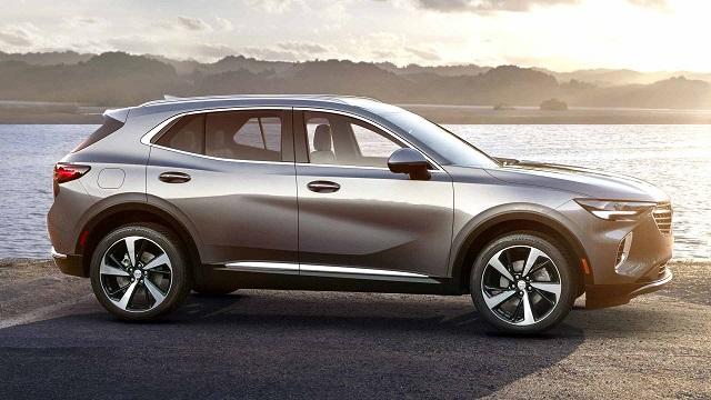 2021 Buick Envision Avenir side