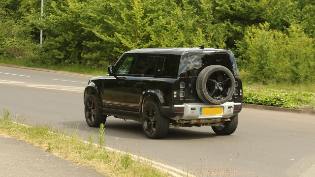 2021 Land Rover Defender SVR rear