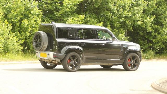 2021 Land Rover Defender SVR side