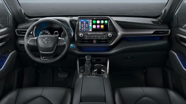 2021 Toyota Kluger cabin