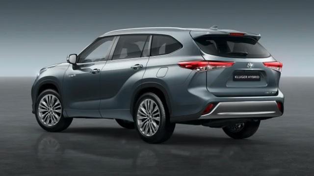 2021 Toyota Kluger rear