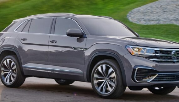 2021 VW Atlas Cross Sport front