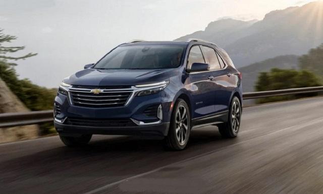 2022 Chevrolet Equinox front